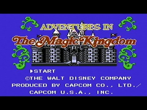 Adventures in the Magic Kingdom nes longplay