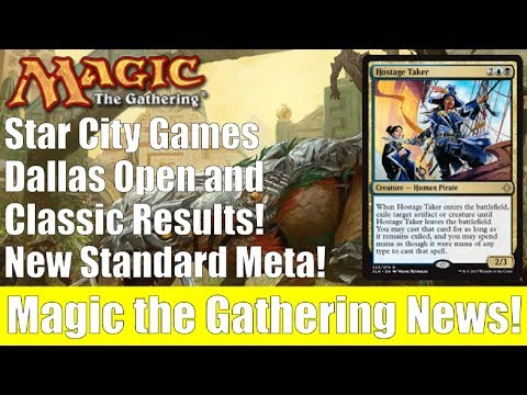 MTG Star City Games Dallas Open and Classic Results! New Standard Meta!