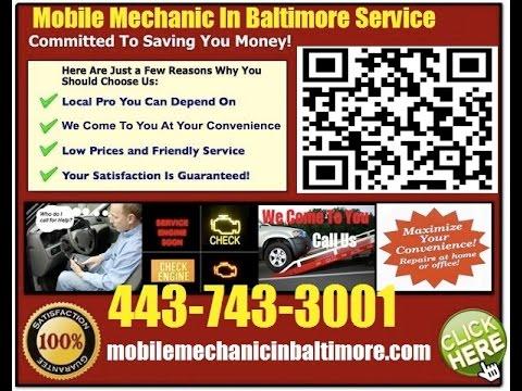 Mobile Mechanic Ellicott City MD 443-743-3001 Auto Car Repair Service