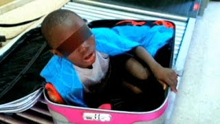 L'enfant ivoirien découvert dans une valise obtient un permis de séjour provisoire