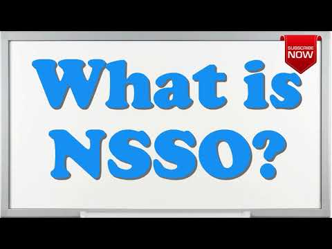 What is the full form of NSSO?