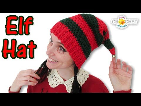 Elf Hat Crochet Tutorial