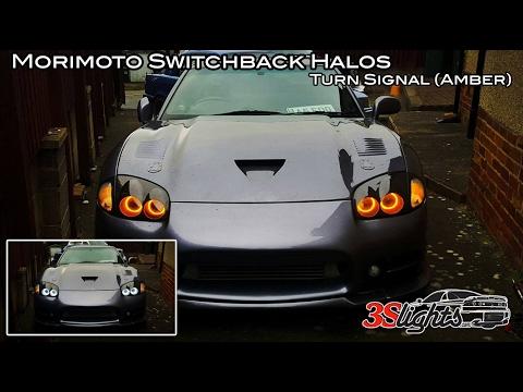 Morimoto Switchback Halos White/Amber (Mitsubishi 3000GT / GTO andDodge Stealth)