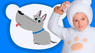 🎧ЩЕНОК ГАВ - ТРИ МЕДВЕДЯ🎼Three bears sons- Песня мультик про собаку для детей малышей