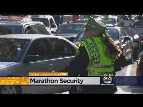 Heavy Security Presence In Days Leading Up To Boston Marathon