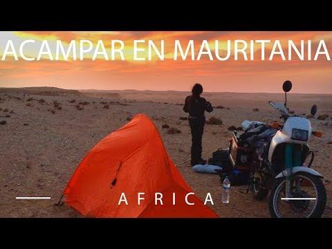 Acampar en Mauritania