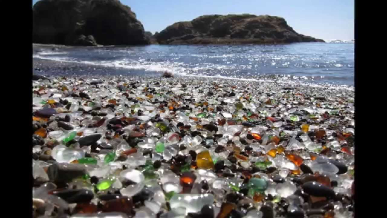 11d452afcd6c Glass Beach in California HD 2018 - YouTube
