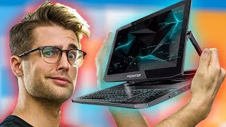 2-in-1 Convertible GAMING Laptop!?