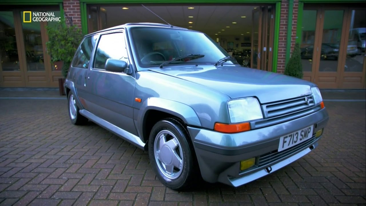 Free Car History Report >> Car SOS S05E05 Renault 5 GT Turbo - YouTube