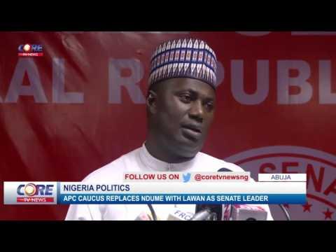 SENATE LEADERSHIP: LAWAN REPLACES NDUME AS SENATE LEADER...watch & share..!
