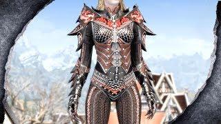 ▶Skyrim Remastered: Deadric Huntress ♦️MOD SHOWCASE♦️ | Killerkev ✔️