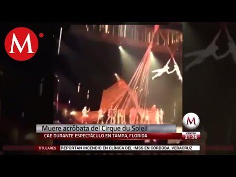Acróbata de Cirque du Soleil muere tras caer en función