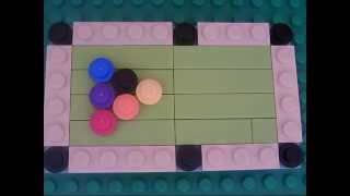 How To Make A Lego Pool Table