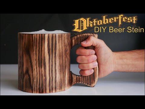 DIY Barrel Beer Mug