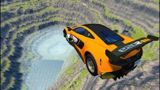 BeamNG Drive High Speed Jumps Compilation (BeamNG Drive Crashes)