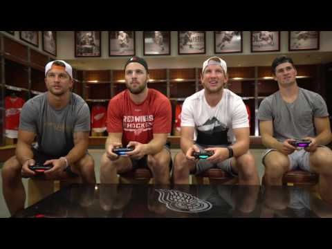 Detroit Red Wings Play NHL 17