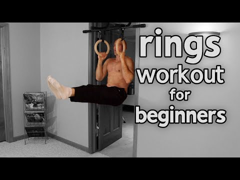 Rings Workout For Beginners (With Progressions)