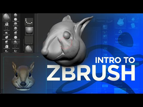 Intro To 3D Sculpting With ZBrush & Cinema 4D
