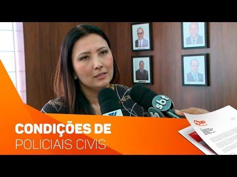 Delegados discutem condições da Polícia Civil - TV SOROCABA/SBT