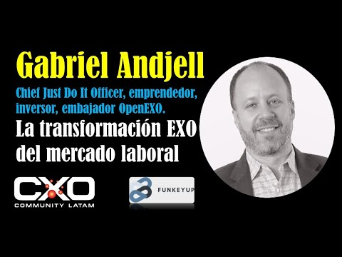 🎙️ Entrevista a Gabriel Andjell (OpenEXO) 💪🤩 La transformación exponencial del mercado laboral 🚀