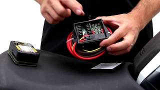 review of denali powerhub2 fuse block and ground block for motorcycles,  utvs, and atvs  youtube