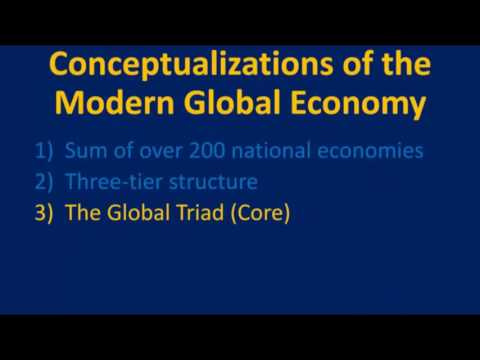 World Geography Online - Conceptualizations of the Modern Global Economy