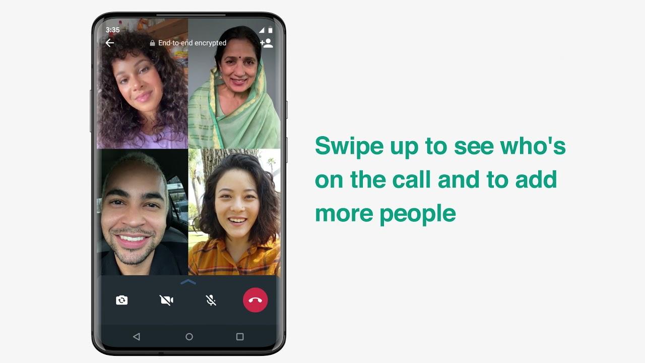 Centar Za Pomoc Whatsappa How To Make A Group Video Call