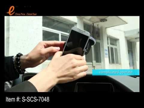 eForChina - Magic Cube Mount Holder Base QI standard Car Kit