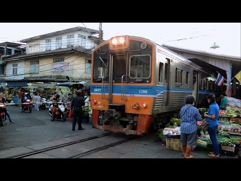 นั่งรถไฟเที่ยวมหาชัยกับรถชานเมืองขบวน 4325 วงเวียนใหญ่ - มหาชัย
