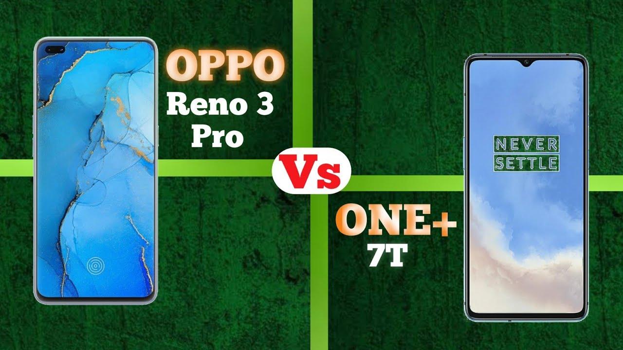 Oppo Reno 3 Pro vs One Plus 7T Full Comparison in Hindi ...