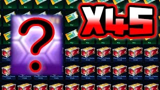 45 ROCKET LEAGUE CRATE 5 OPENING!! ( Mystery Decal, Player