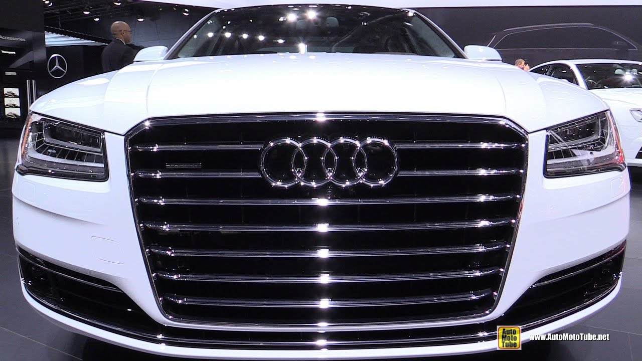 2015 audi a8l tdi quattro exterior and interior walkaround 2015 detroit auto show youtube. Black Bedroom Furniture Sets. Home Design Ideas