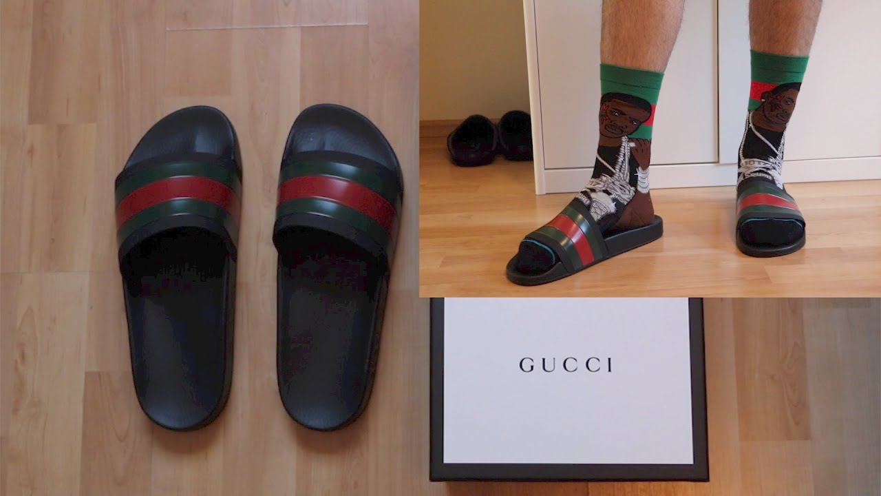 d9c66e19fb2dbb GUCCI SLIDES REVIEW + On-Feet - YouTube
