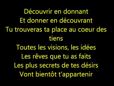 Tarzan - Enfant de l'Homme - Paroles