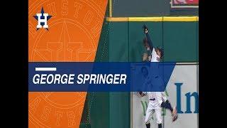 Springer flashes the leather in Games 6 and 7