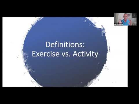 How Parkinson's Exercise is Different: Patrick's Zoom Presentation