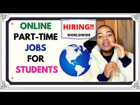 PART-TIME JOBS FOR STUDENTS *ONLINE* //HIRING WORLDWIDE