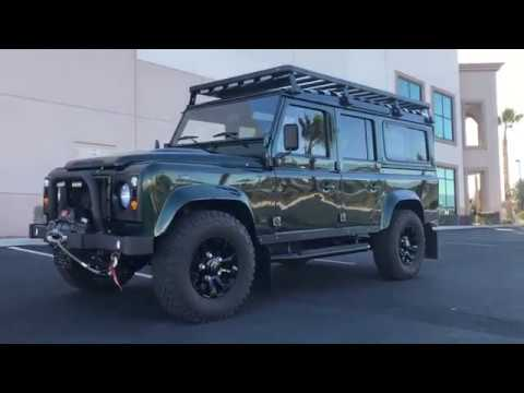 1992 Defender 110 built by ARKONIK in England----At Celebrity Cars Las Vegas