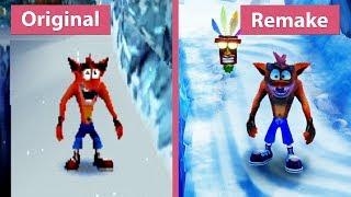 Crash Bandicoot 2 – Original (1997) vs. N. Sane Trilogy (2017) Remake PS4 Pro Graphics Comparison