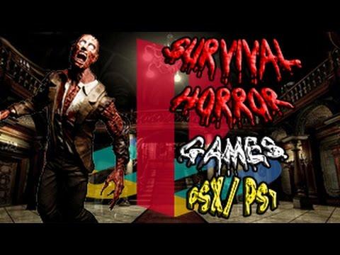 Los 10 Mejores Juegos del Género Survival Horror para PlayStation 1 (PSX/PSONE) [LOQUENDO]