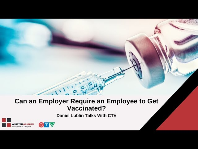 Can an employer require its employees to get vaccinated?