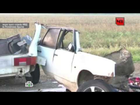 Жесткое столкновение - ДТП в Адыгее 28 5 2 15