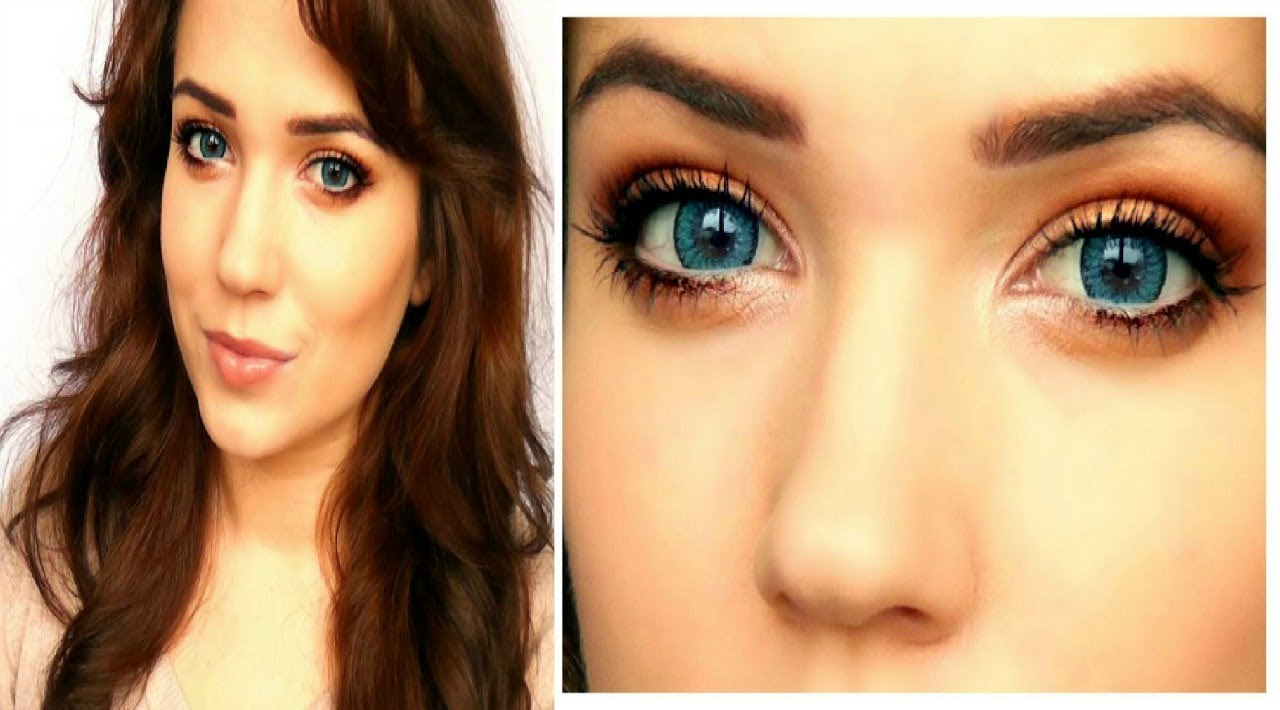 How To Make Blue Eyes Pop Youtube