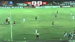 Bóng đá bạo lực VN - Indo Không thể tin được đây là bóng đá