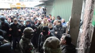 Директора центрального ринку регіонала Ігоря Дутку франківці поставили на коліна