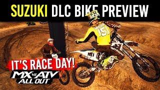 MX vs ATV All Out - Suzuki DLC Bike Preview - Monster Energy Kawasaki Teammates!