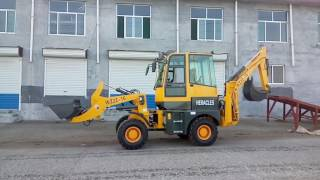 heracles WZ22 16 backhoe loader front end loadr