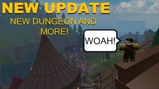 DUNGEON QUEST UPDATE! New Dungeon, Loot, Lobby and MORE! (ROBLOX Dungeon Quest)