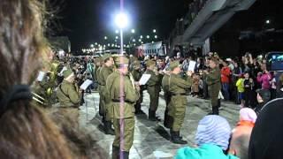 Агрыз. Поезд Победы. 2015г. Духовой оркестр.
