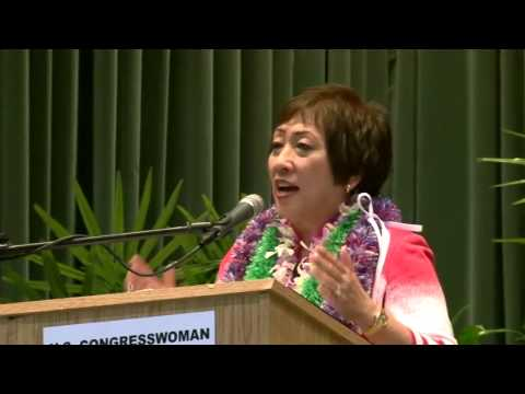 Schatz vs Hanabusa - JONES ACT - 8 of 13 - (U.S. Senate Forum - July 2 in Hilo, Hawaii)